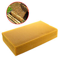 10X Natural Beeswax Candlemaking Bee Wax Candle Honey Comb Foundation Beekeeping