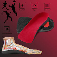 For Men Arch Support Heel 3/4 Orthopedic Insoles Inserts Plantar Fasciitis Shoe