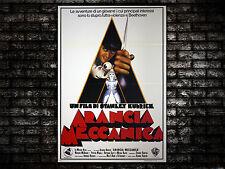 Movie Poster Arancia Meccanica 100x140 CM - Clockwork Orange - Stanley Kubrick