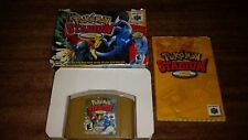 POKEMON STADIUM 2 II NINTENDO 64 N64 EX- COMPLETE IN BOX!