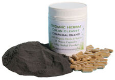 New Activated Charcoal Blend Colon Cleanse - Freshly Made - Free pH Test Sticks