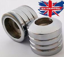 "PAIR 22mm 7/8"" ALUMINUM MOTORCYCLE STANDARD HANDLEBAR ROUND BAR END WEIGHTS @UK"