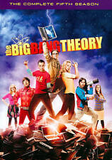 The Big Bang Theory: The Complete Fifth Season (DVD, 2012, 3-Disc Set) NEW