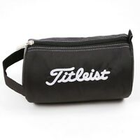 Titleist Japan Golf Ball Pouch Bag Carry Case PCH9 Black