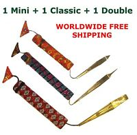 Jaw/Jew's / Mouth Harp Dan Moi Vietnam Set of 3: 1 Mini, 1 Classic, 1 Double