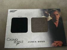 JAMES BOND IN MOTION DC03 SHIRT & PANTS RELIC CARD #408 OF 999