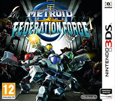 Metroid Prime Federation Force Nintendo 3DS IT IMPORT NINTENDO