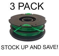 Dual Line Trimmer Spool for Black & Decker DF-080-BKP 3-Pack