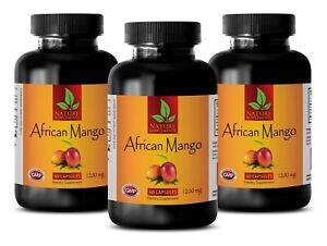 diet pills for women and men - AFRICAN MANGO 1200mg - organic 3 Bottles 180 Caps