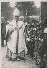 PARIS c.1930 - Enfants Mgr Ange-Marie Hiral Évêque Sacrement de l'Ordre- PRM 264