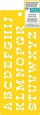 """Alphabet Stencil  Delta Stencil Mania - Sidekick Letters Approx 3/4"""" tall  NEW"""