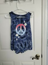 Justice Girls Sleeveless Shirt Size 12