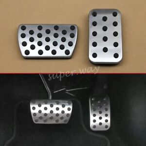 Brake Gas Foot Accelerator Pedal Covers For Honda Accord Civic X CRV 5 Odyssey