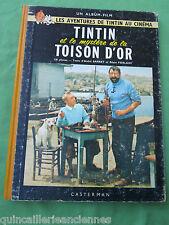 """Album film BD """"Tintin et le mystère de la Toison d'or"""" ancien Casterman Hergé"""