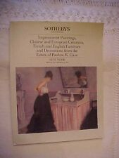 1984 SOTHEBY'S AUCTION CATALOG, CHINESE, EUROPEAN ART & FURNITURE #77354