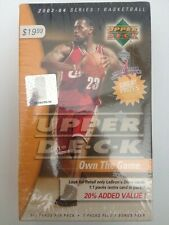 2003-04 Upper Deck Basketball Box LeBron James Rookie Card sealed