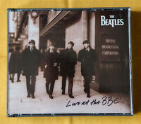 THE BEATLES LIVE AT THE BBC 2 x cd McCartney Lennon Harrison Starr