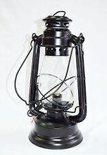 Vintage Black Electric Lantern - Hang or Table Lamp Light Rustic Elegance Home