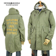Denim & Supply by Ralph Lauren New with Tags Long Military Parka Men's SZ-M