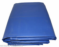 Heavy Duty Blue PVC Tarps 610 GSM Many Sizes Available. Best Quality on EBAY 9.0 X 7.2 M