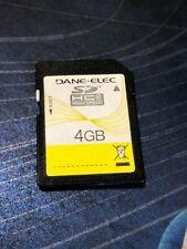 Dane-Elec 4 Gb Class 4 Secure Digital Card HIGH SPEED CA1GEAT1351D7