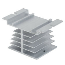 Aluminum Heat Sink for Solid State Relay SSR Small Type Heat Dissipation 10A-40A