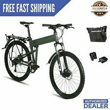 "New 2019 Montague Paratrooper 20"" Mountain Folding Bike wPedals & FREE Carry Bag"