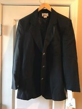 Ladies Wrangler Riata Equestrian Lined Black Riding Jacket Coat NWT! Size 10