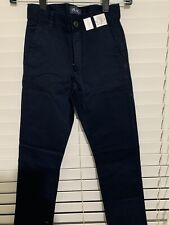 The Children Place Boys Uniform Navy Slim Fit Pants Sz 8