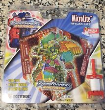 "Transformers MicroLite Mylar Kite w/ 7"" Wingspan Ages 5 & Up Brand New"