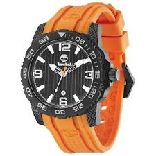 MENS BRAND NEW TIMBERLAND ORANGE SANDOWN WATCH TBL.13613JSB/02 RRP £129