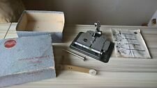 Vintage Film Splicer For 8mm and 16mm Film Boxed Arguet Colleuse Marguet