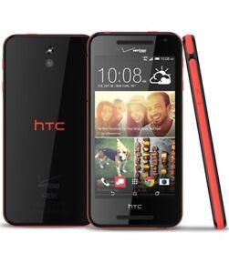 HTC Desire 612 | 331ZL | Black and Red | 8GB | Verizon