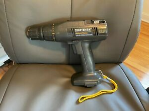 """Craftsman Industrial 12.0 12V Drill Driver 3/8"""" Ni-MH Tested Works Tool Only"""
