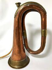 Antique Bugle Douglas & Son Ltd. Rare Find Copper & Brass 1870-1907