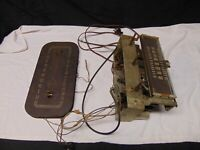 Vintage Farnsworth Radio Parts #6462 with Face Antenna & tubes Parts no body