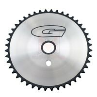44T G Sprocket Chainring Chrome/Black Beach Cruiser Lowrider BMX Bike
