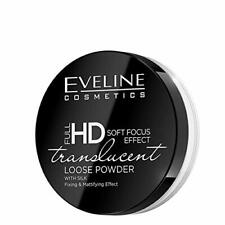 Eveline Full HD Translucent Loose Powder with Silk Fixing & Mattifying Effect 6g