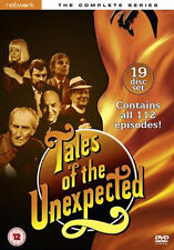 TALES OF THE UNEXPECTED - THE COMPLETE SERIES - DVD - REGION 2 UK