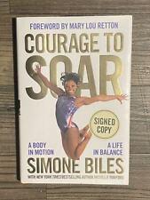 "SIMONE BILES signed / autographed hardback book ~""Courage To Soar""~ PSA/DNA COA"