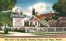 Las Vegas,Nevada,Wee Kirk 'o the Heather,Wedding Chapel,Linen,c.1940s