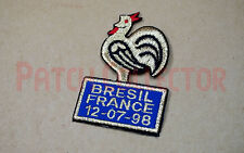 France World Cup 1998 final France vs Bresil Patch / Badge