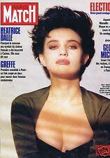 Couverture magazine,Coverage Paris Match 03/06/88 Béatrice Dalle