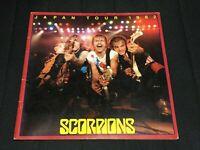 """""""Scorpions"""" Tourbook Japan Tour 1982 Booklet"""