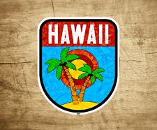 """Hawaii Decal Sticker 3.25"""" x 2.5"""" Vinyl Kauai Oahu Molokai Maui Indoor Outdoor"""