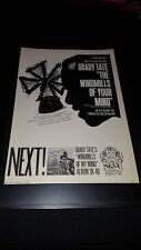 Grady Tate The Windmills Of Your Mind Rare Original Promo Poster Ad Framed!