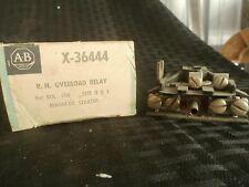 Allen Bradley X-36444 R.H. Overload Relay