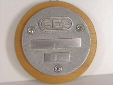 CFL - Waggonschild rund  a. Brett v. 1966  - #138  #E - gebr.