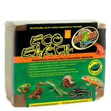 Zoo Med Eco Earth Compressed Coconut Fiber Substrate 3 Bricks Value Pack