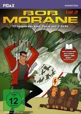 VOL.2 BOB MORANE - von Henri Vernes + Booklet 2 DVD NEU